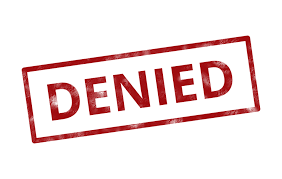 denied